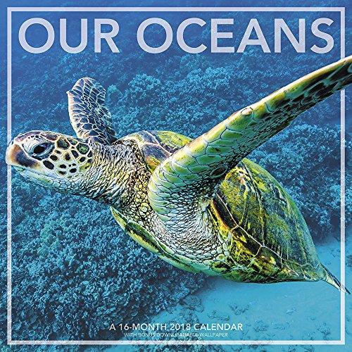 2018 Our Oceans Wall Calendar (Landmark)