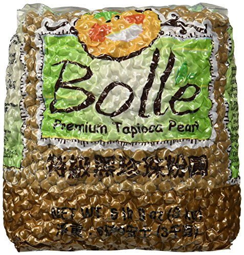 Premium Black Tapioca Pearls Boba By Bolle (6 lbs 9 oz (3 kg))