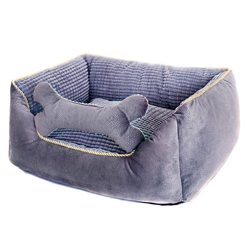 M (75  62  25cm) Pet Bed Pet Kennel Teddy Small Dog Kennel Pad Pet Supplies