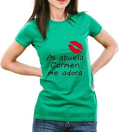 Calledelregalo Regalo Personalizable para tu Nieta: Camiseta ...