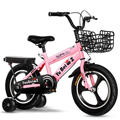 LINGS Foldable Bicycle Kids' Bikes 12 inch Fashion Sport Children Bike Safety Exercise: Home & Kitchen