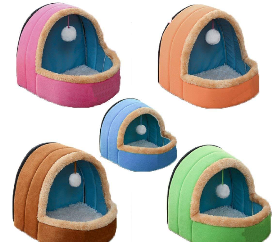 Pet Bed Kennel Cat Litter Pet Nest Dog Supplies Pet Supplies Pet Supplies,Multi-colord-L