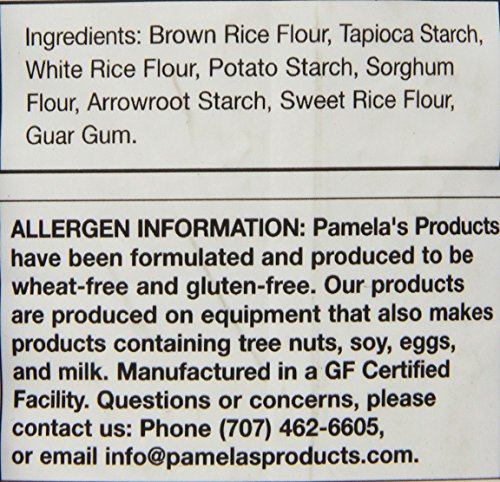 Pamela's Products Gluten Free All Purpose Flour Blend, 24 Ounce by Pamela's Products (Image #2)