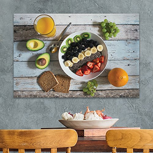 Various Fruits on Wooden Background Gallery