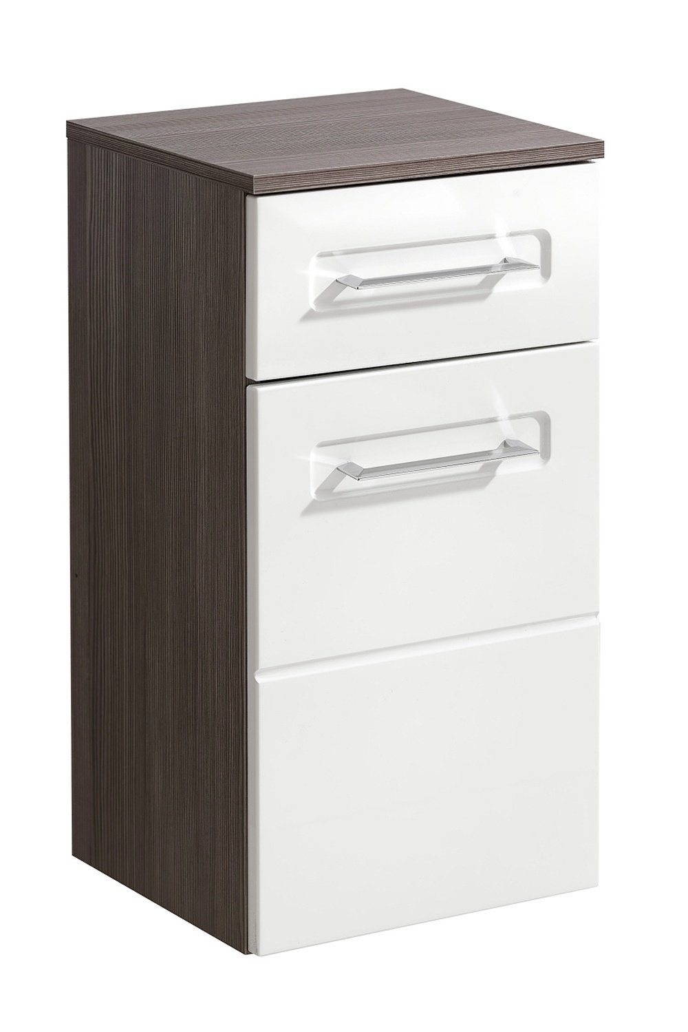 Cosmo 2 Badmöbel Set / Komplettbad 6 Teilig In Weiß Hochglanz / Avola  Dekor, Waschtisch 80 Cm, LED Beleuchtung: Amazon.de: Küche U0026 Haushalt