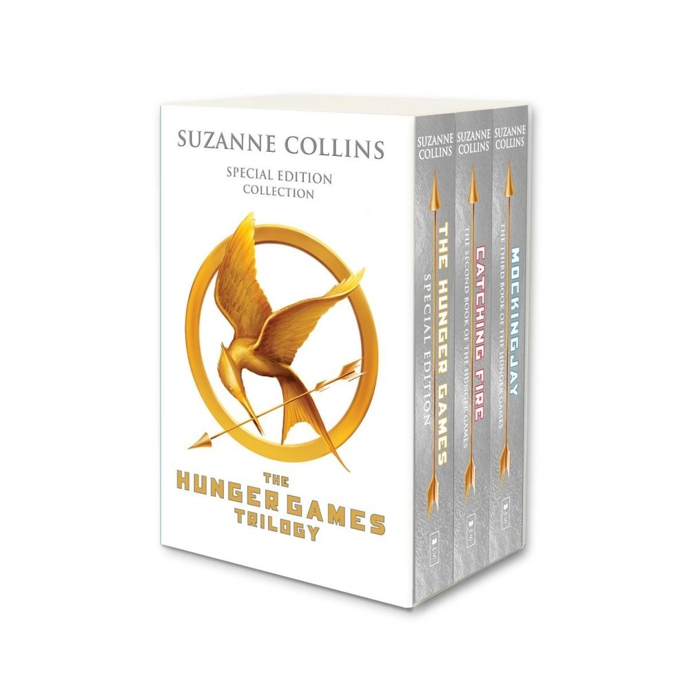 Hunger Games Trilogy (white anniversary boxed set) por Suzanne Collins