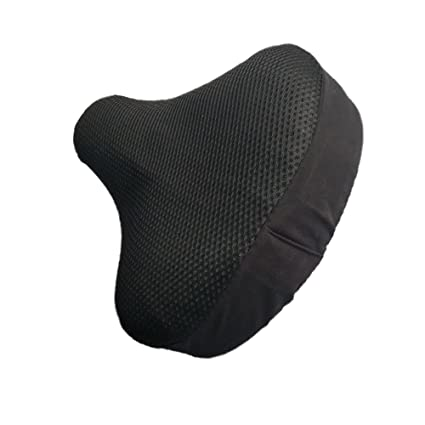 Amazing Amazon Com E Edesa Bike Seat Cover Foam Padded Leather Ibusinesslaw Wood Chair Design Ideas Ibusinesslaworg