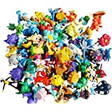 "OliaDesign Pokemon Pikachu Monster Mini Action Figures Toy (Lot of 24 Piece), 1"""