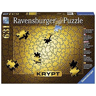 Krypt Gold Puzzle 631 Teile Die Herausforderung Puzzeln Ohne Bild Nur Nach Teileform