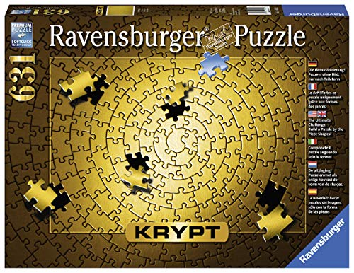 Ravensburger -Krypt Puzzle - Gold (631 PC) ()