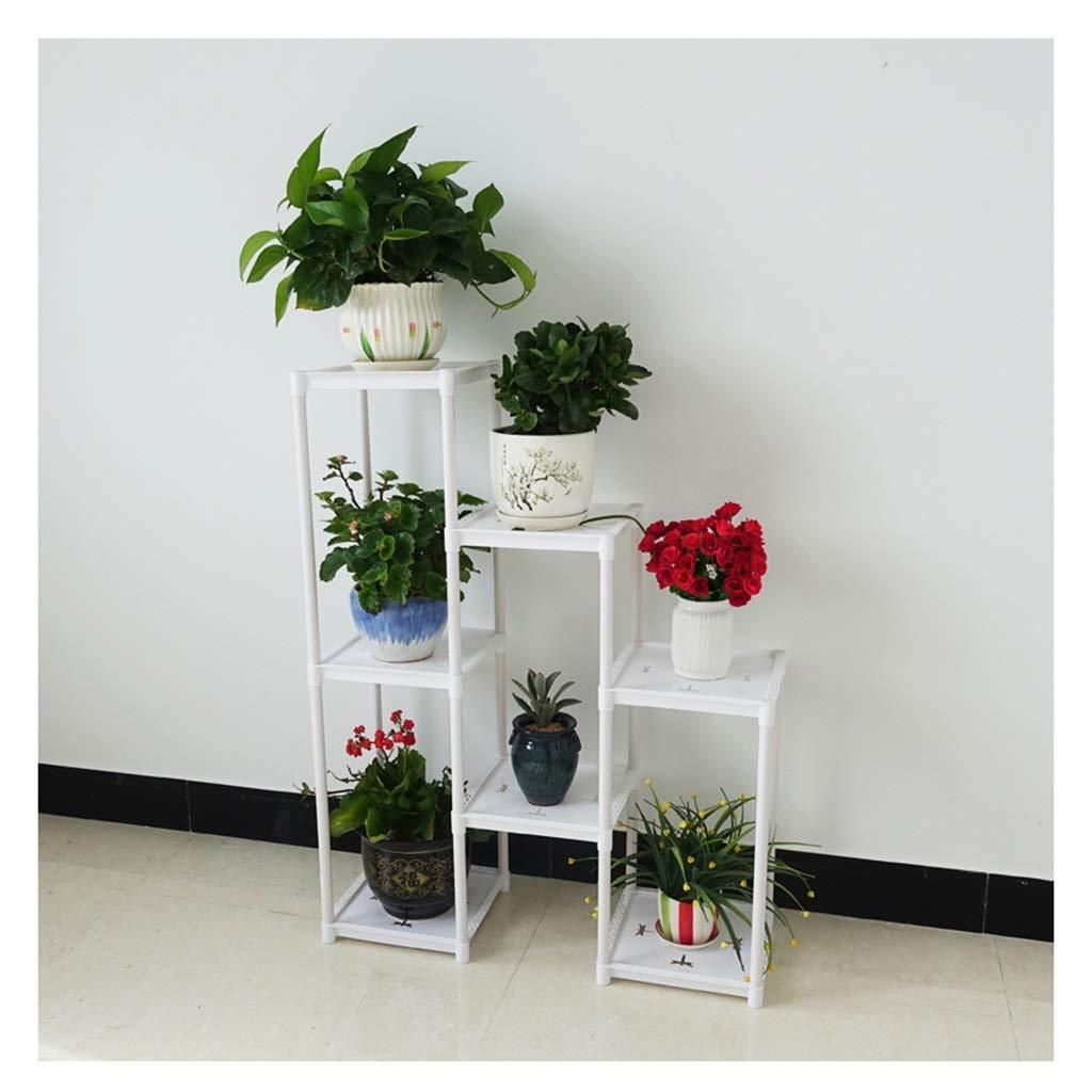 Coperture per set arredo giardino Stand di Fiori Portavaso Plastica Multilayer Montaggio da Pavimento Soggiorno Multifunzione Stile Europeo Decorazione Mensola