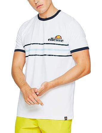ellesse Men's Gentario T Shirt, White |