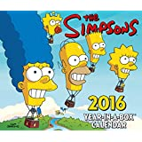 The Official the Simpsons 2016 Desk Block Calendar