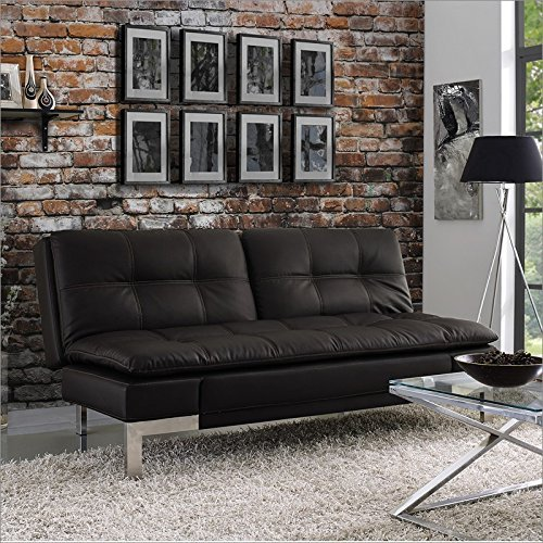 Serta Dream Convertibles Venza Sofa in Java