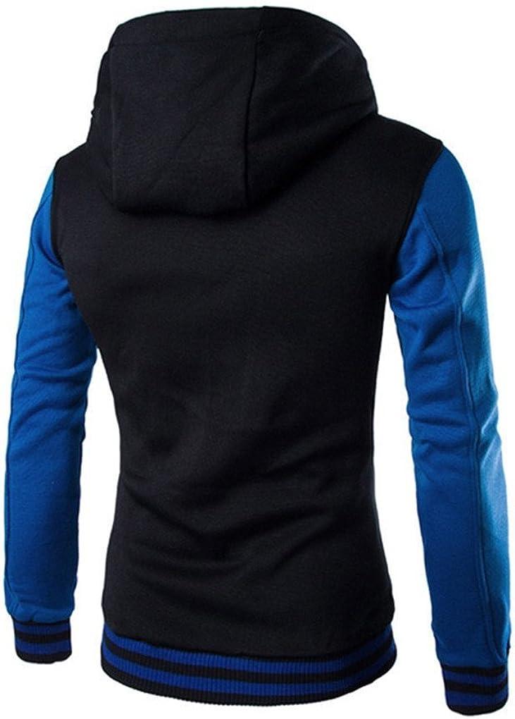 Autumn Winter Men Teens Slim Fit Hoodie Sweatshirt Winter Long Sleeve Coat Jacket spyman Fashion Mens Shirt