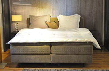 Kiruna unik deluxe box spring bed cm from auping