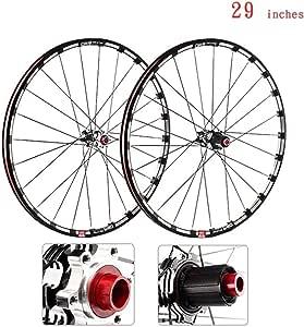 CHUDAN Bicicleta MTB Rueda Delantera Rueda Trasera, Juego De ...