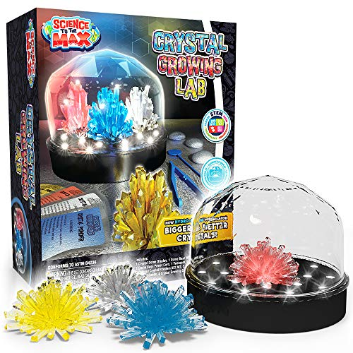 Be Amazing! Toys DIY Crystal Growing Experiment Kit for Kids