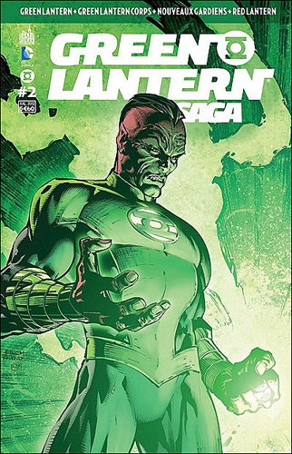 Green lantern, saga 2