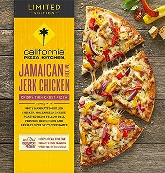 California Pizza Kitchen Crispy Thin Crust Jamaican Jerk Chicken 14 0 Oz 14 Count