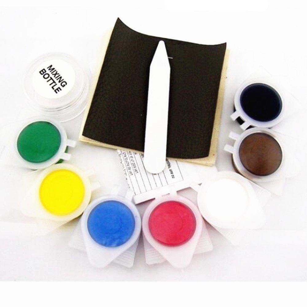 Duojin Car Leather&Vinyl Seat & Interior Trim No Heat Repair Mend Professional New Kit