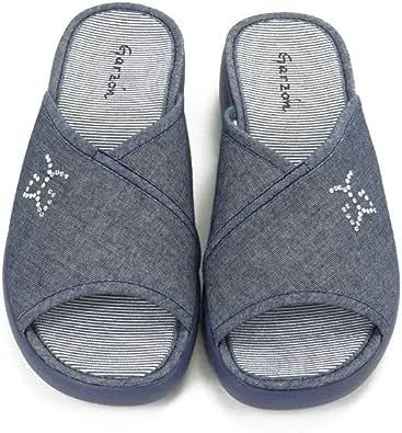 GARZON - Zapatilla CASA 6971-RBLM para: Hombre Color: Azul Marino Talla: 40: Amazon.es: Zapatos y complementos