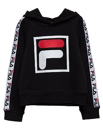 fila hoodie black