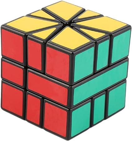 FunBlast Intelligent Square-1 Block Puzzle Cube, Creative & High Speed Stickered Edition Magic Cube