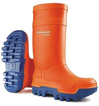 Dunlop - Calzado de protección de poliuretano para hombre Naranja naranja 42.5, color Naranja,