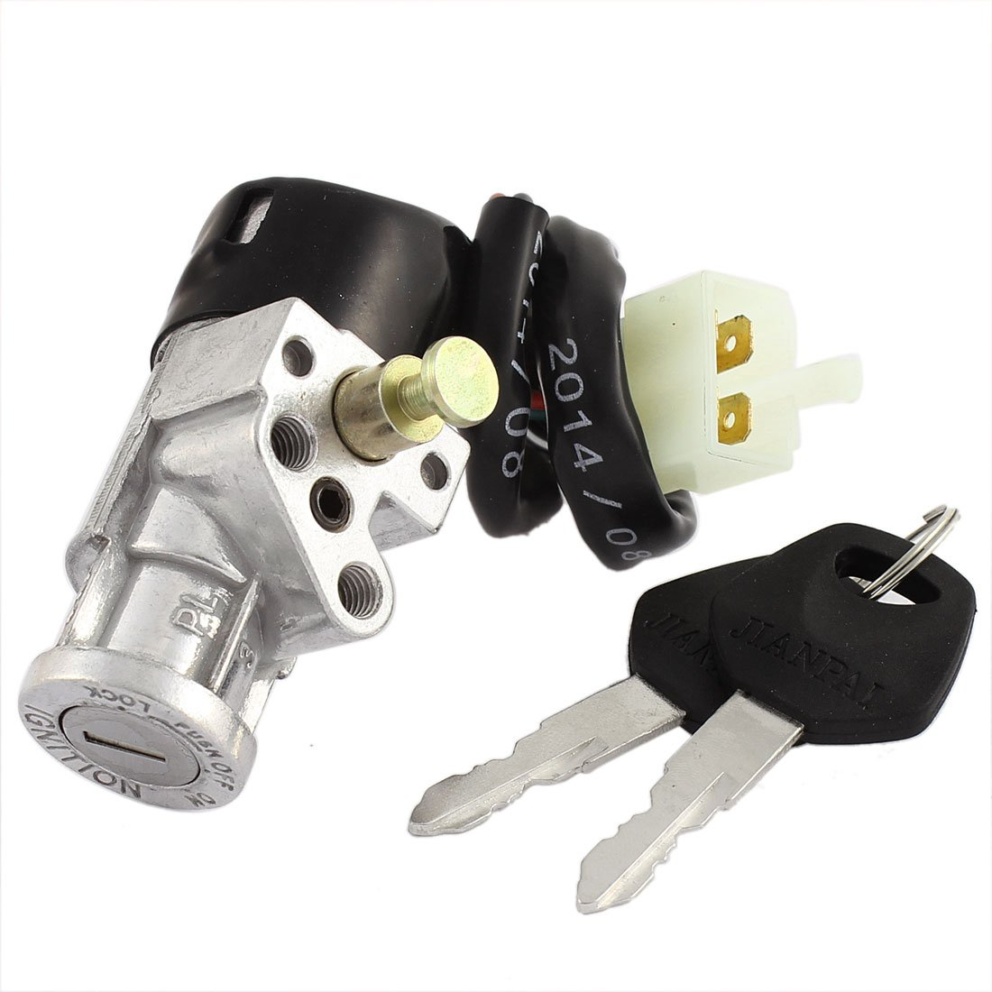 uxcell Motorcycle Ignition Switch Lock w Keys a15070100ux0720