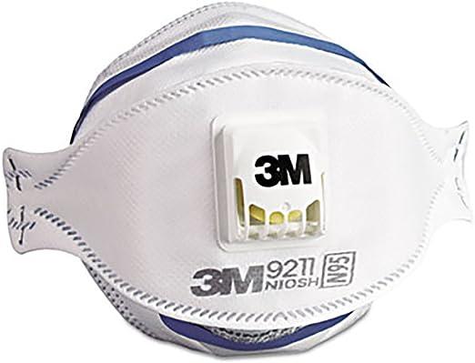 Flat-fold Amazon Disposable - Masks Canada Respirator N95 Mmm9211-3m