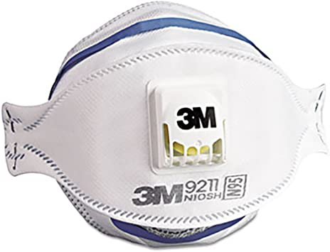 Amazon Flat-fold Disposable - Masks Respirator N95 Mmm9211-3m Canada