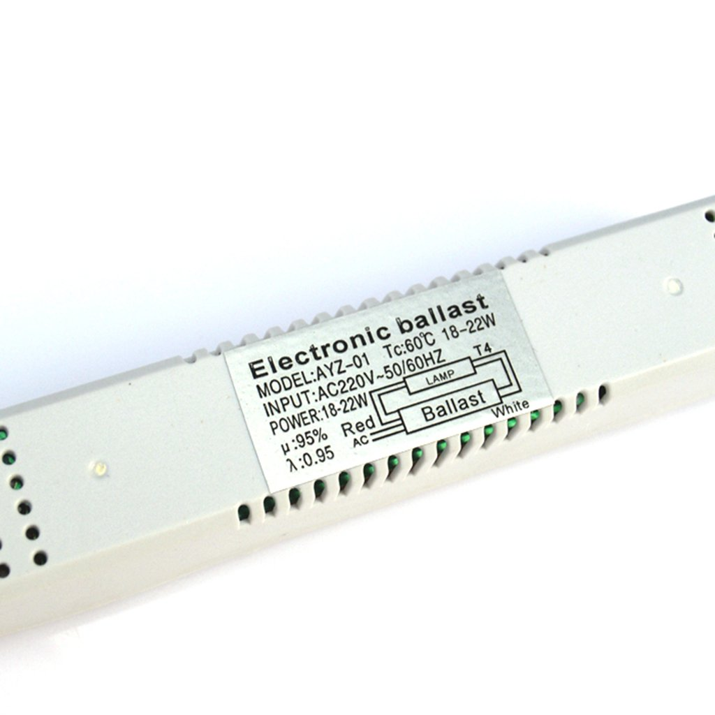 Tubo de L/ámpara Fluorescente T4 Balasto Electr/ónico Amplia Gama de Iluminaci/ón Interior 8w-16w