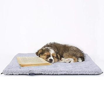 Cama Plegable 2 en 1 para Mascotas PEDY, Cojín para Gatitos, de Piel Gris