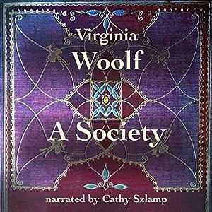 Society Audiobook Virginia Woolf Audible Au