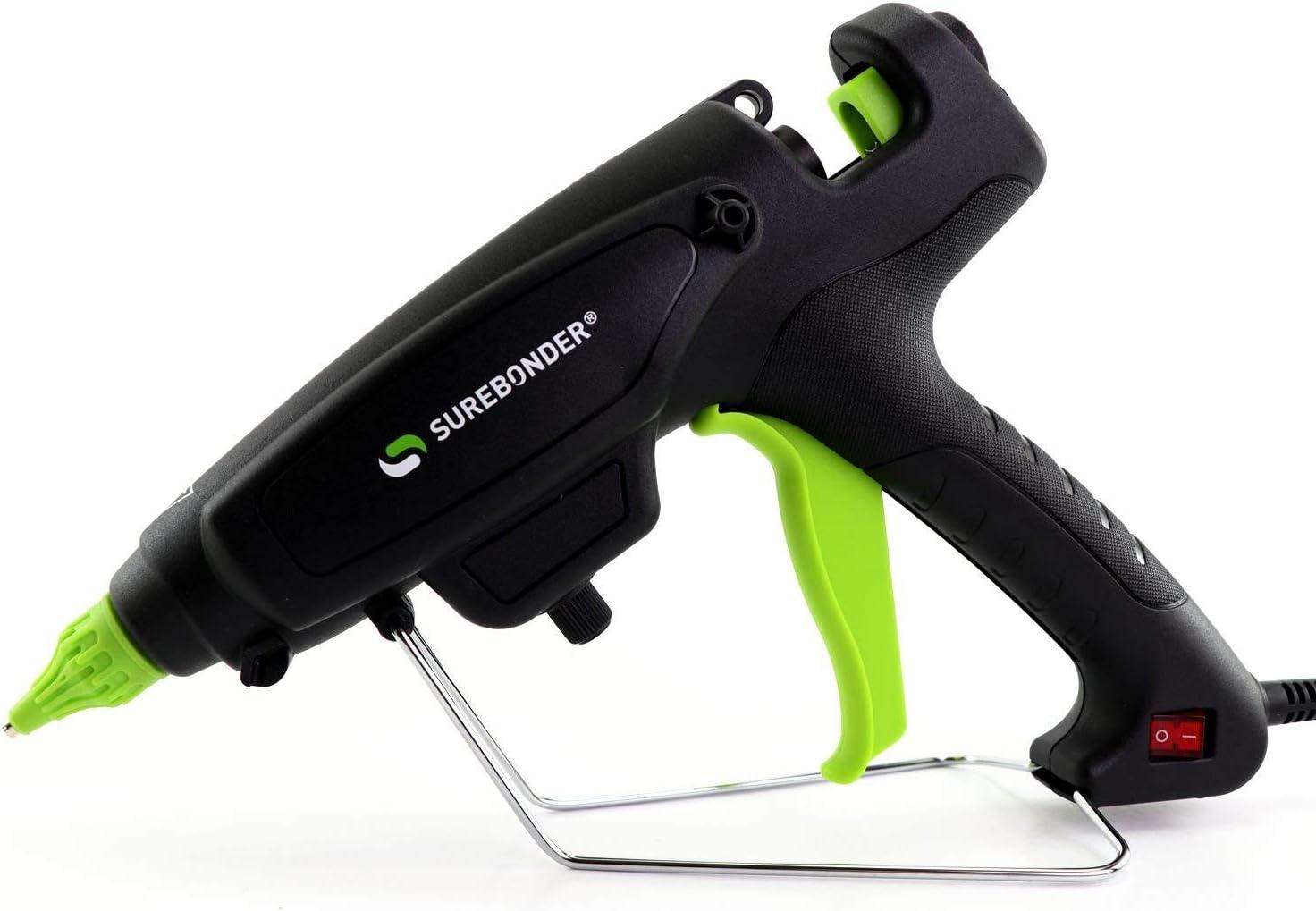 "Surebonder PRO2-220 220 Watt Adjustable Temperature Professional Heavy Duty Hot Glue Gun - Uses full size, 7/16"" sticks: Home Improvement"