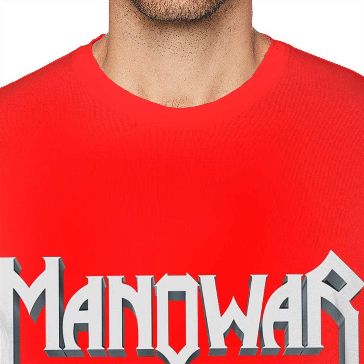 Jasonlooper Manowar Kings of Metal Camiseta para hombre