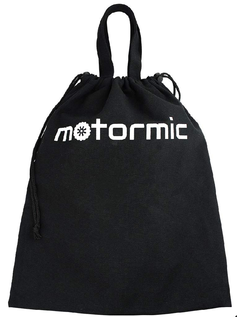 Black canvas strong and reliable bag for keeping all your towing equipment in one place Motormic Tow Kit Bag