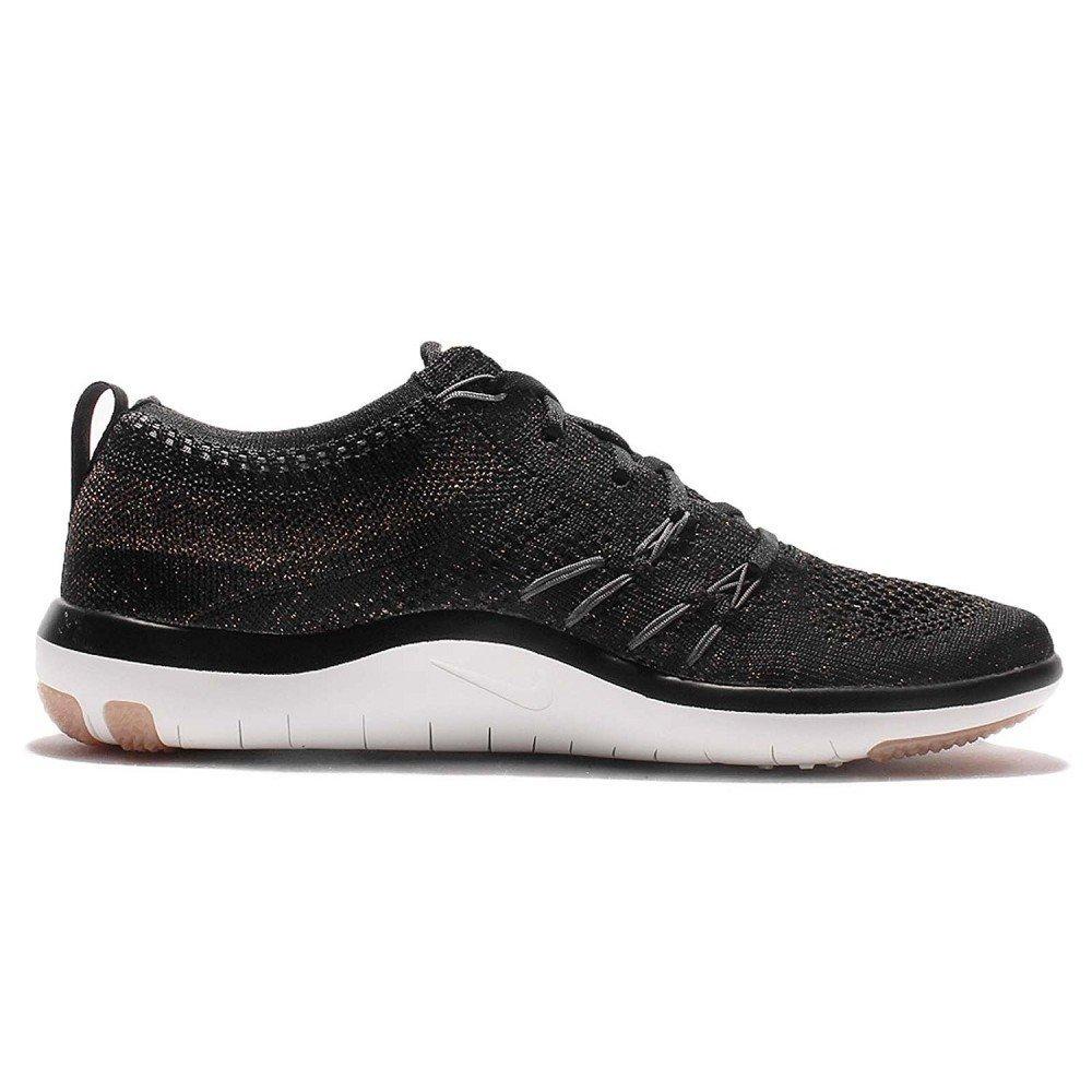 classic fit 95ccf f0640 Amazon.com   Nike Women s WMNS Free TR Focus Flyknit, Black Dark Grey, 7 M  US   Road Running