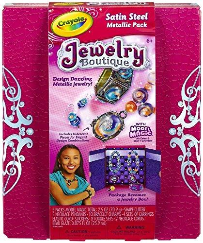 Crayola Model Jewelry Boutique Metallic