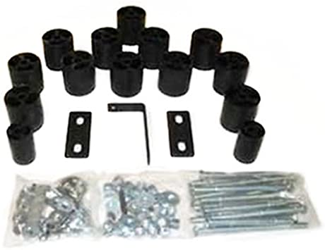 PA763 Made in America Ford F-150//F-250//F-350 Gas 2WD and 4WD 3 Body Lift Kit fits 1987 to 1991 Performance Accessories