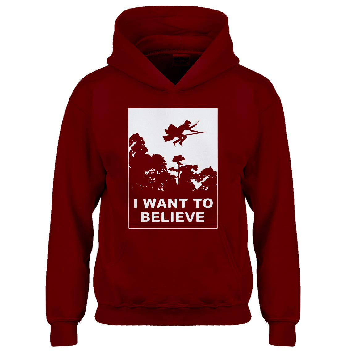 Indica Plateau Youth I Want to Believe Wizard Kids Hoodie
