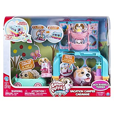 Chubby Puppies Camper Playset Toy by Spin Master