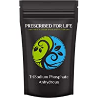 Prescribed for Life TriSodium Phosphate Anhydrous (TSP) - US Food Grade Granular, 12 oz (340 g)