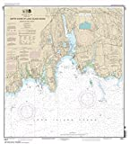 NOAA Chart 13211: North Shore of Long Island Sound Niantic Bay and Vicinity 33.8 x 30.6 (TRADITIONAL PAPER)
