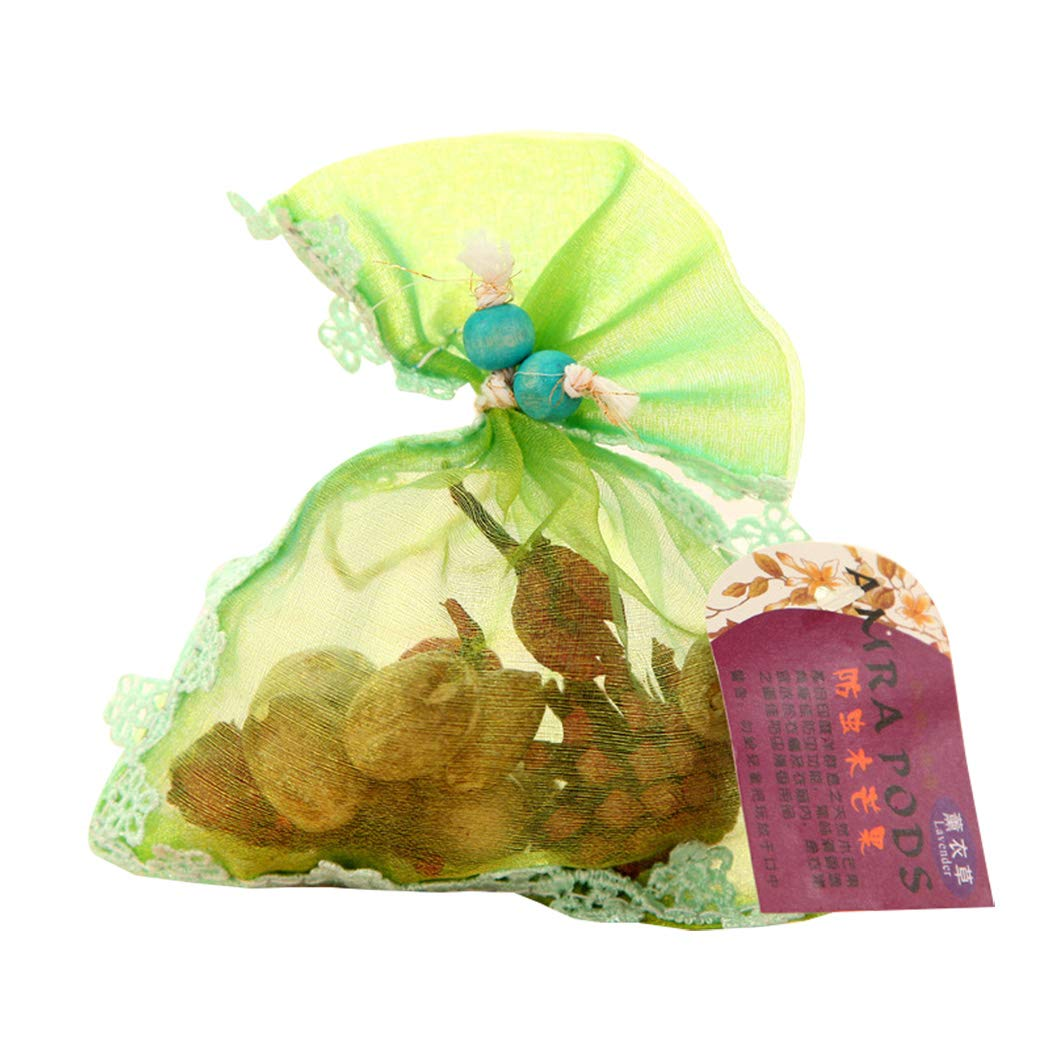 Scented Sachets for Drawers Closets Room Organza Drawstring Dried Plants and Flowers Pack of 5 Lavender TanShine Potpourri Bag