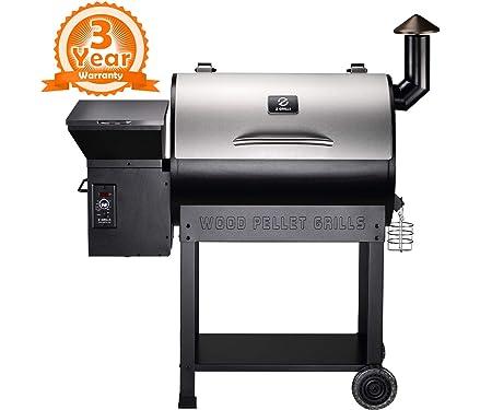 Z GRILLS ZPG-7002ENC 2019 New Model Wood Pellet Grill & Smoker