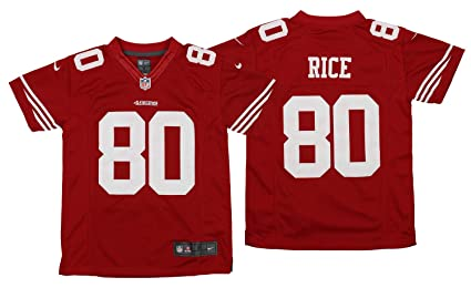 4c85593c Amazon.com : Nike NFL Youth (8-20) San Francisco 49ers Jerry Rice ...