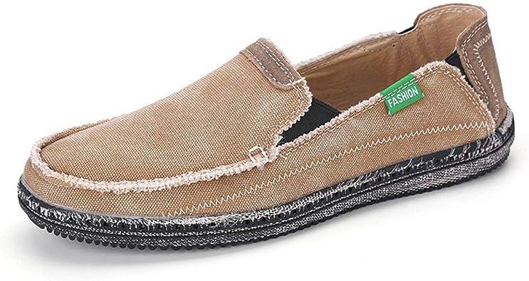 Amazon.com   JHB Mens Canvas Shoes Slip