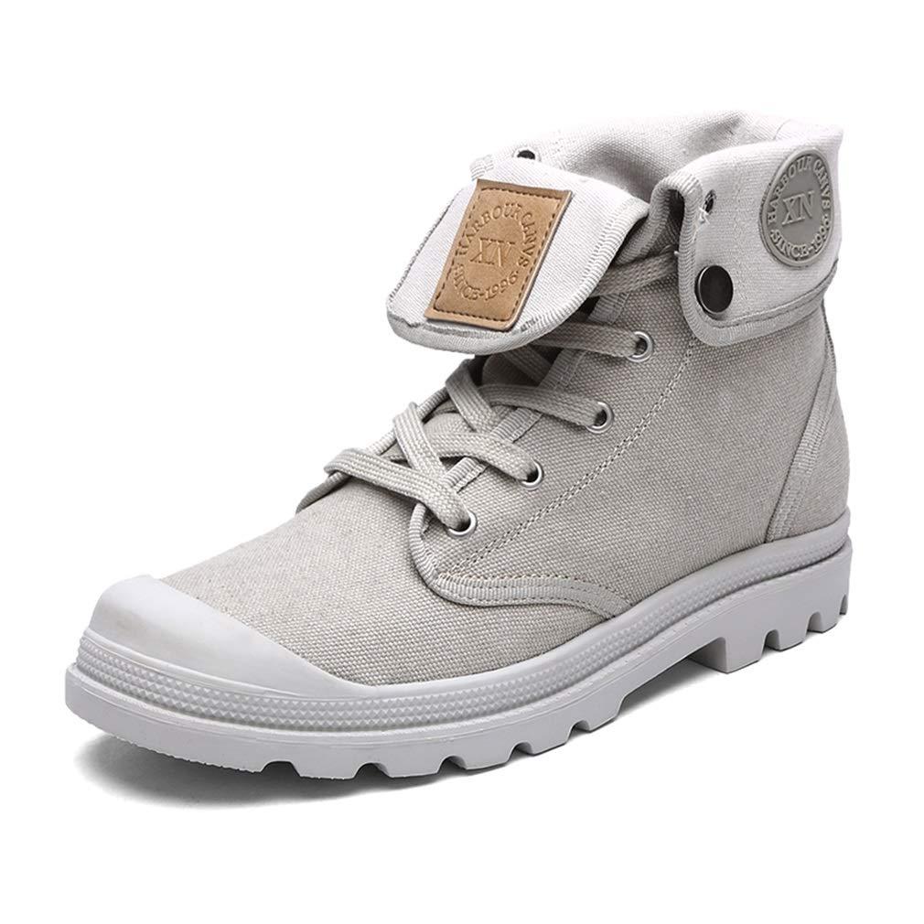 Exing damen Schuhe High-Top-Turnschuhe Liebhaber Leinwand Schuhe Anti-Rutsch Vintage Martin Stiefel Casual Tooling Schuhe (Farbe   D, Größe   43) B07GVDH448 Tennisschuhe Schön und charmant